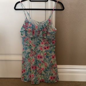 Dresses & Skirts - [NEW]: Colorful Spring Floral Romper